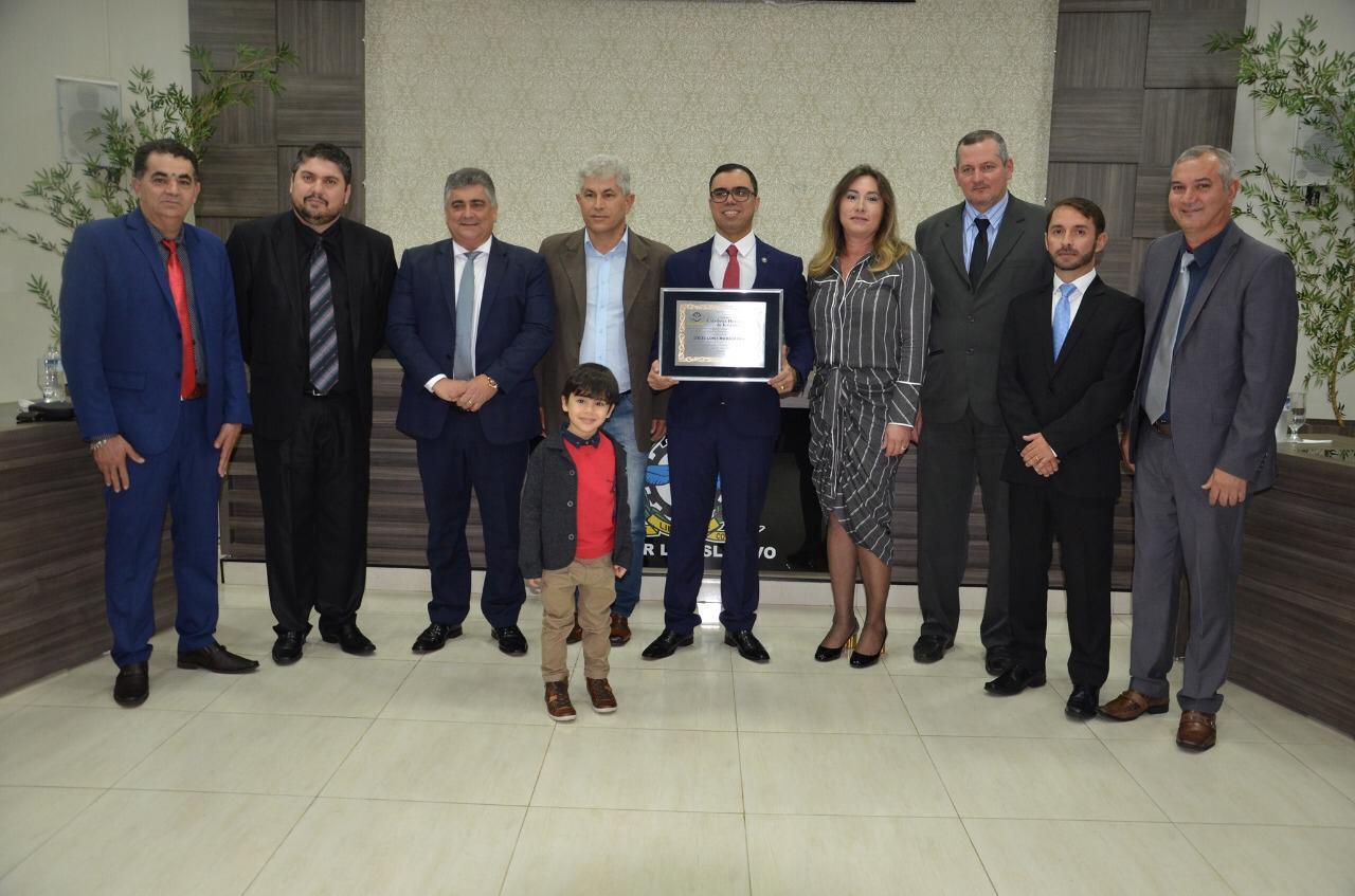 Juiz Dirceu Gomes Machado Filho recebe título de cidadão honorário de Ivaiporã