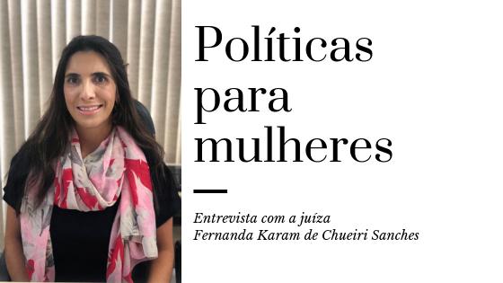Fernanda Karam de Chueiri Sanches fala do trabalho desempenhado pela diretoria de políticas para mulheres na AMAPAR