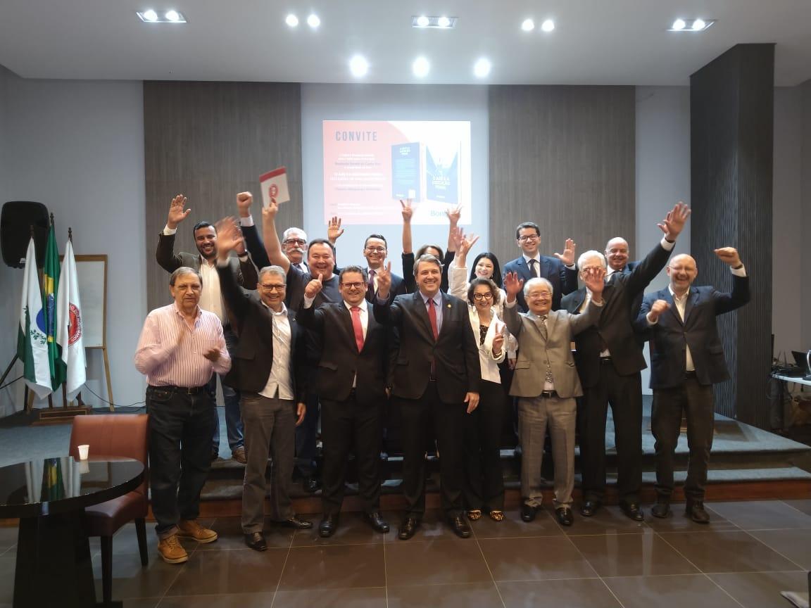 Juiz Geraldo Dutra de Andrade Neto é reeleito presidente da AMAPAR para o biênio 2020/2021