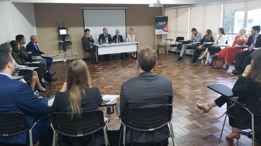 EMAP recebe juízes formadores da ENFAM para o módulo nacional do curso de formação inicial