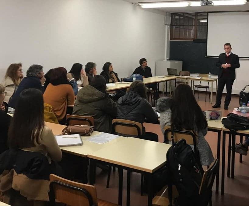 Em Portugal, juiz Sérgio Kreuz ministra palestras sobre acolhimento familiar