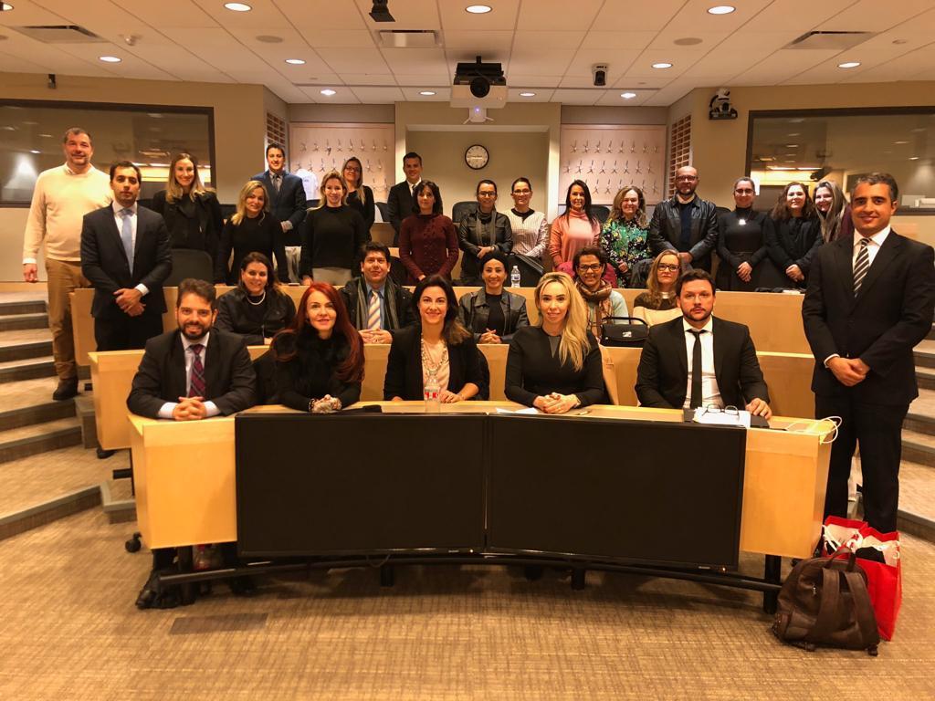 Participantes relatam à AMAPAR a visão paranaense sobre o FONAJUC, na celebrada universidade de Harvard (EUA)