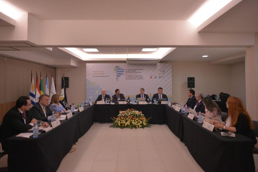 Magistrados discutem independência judicial durante 1ª Cúpula de Presidentes de Associações de Juízes do Mercosul