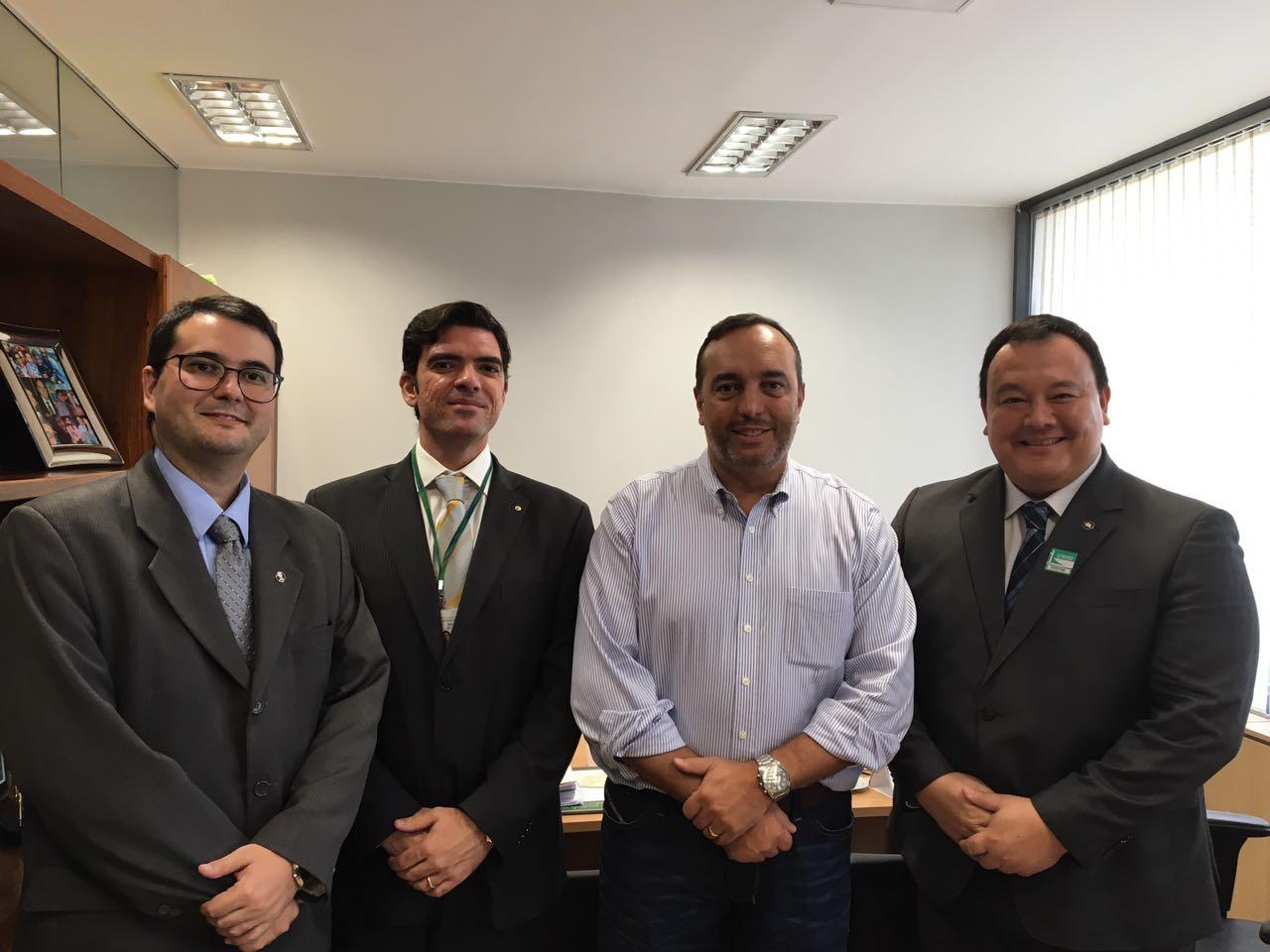 BRASÍLIA – PLP 387/2017, que atinge orçamento do Judiciário, rende reuniões de parlamentares com magistrados da AMAPAR e da AMB