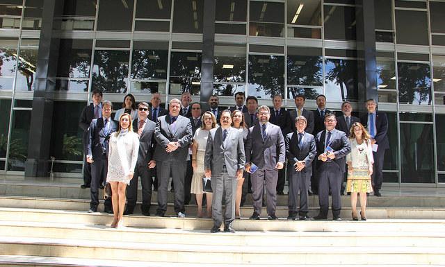 Geraldo Dutra abre os trabalhos na presidência com participação em reunião no STF