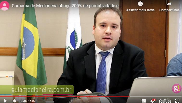 Juiz comenta alto índice de desobstrução processual na comarca de Medianeira