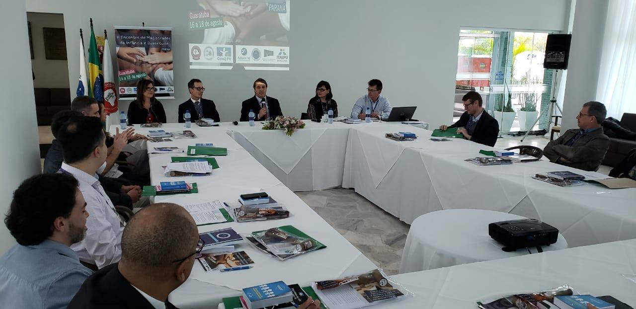 Participantes destacam formato e qualidade dos debates durante o II Encontro de Magistrados da Infância e Juventude