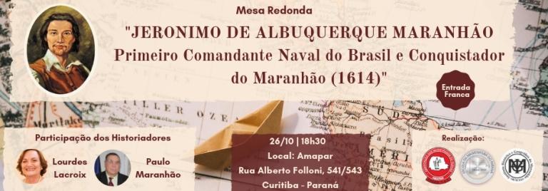 Descendente de Jeronimo de Albuquerque Maranhão, desembargador fala da importância histórica e convida para evento na AMAPAR