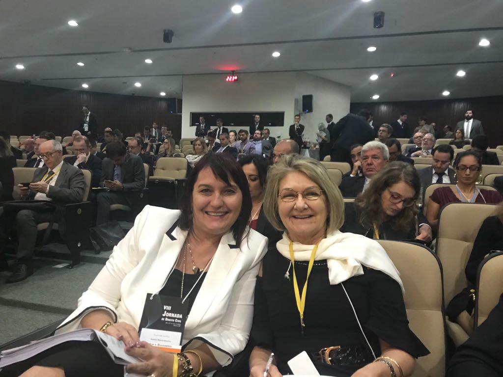 Magistradas comentam à AMAPAR a participação na Jornada de Direito Civil com a aprovação de enunciados