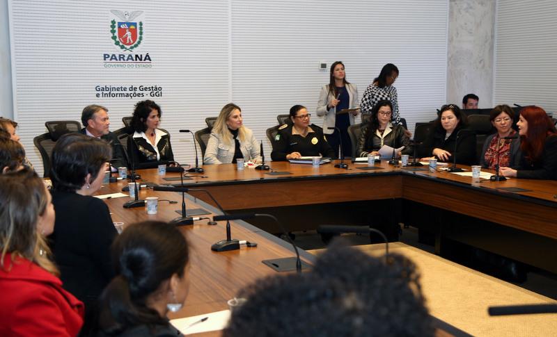 Representantes da AMAPAR participam de reunião com a Governadora