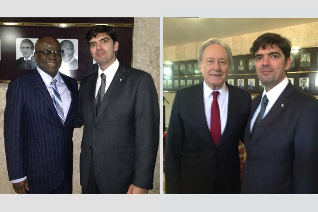 Juiz Nicola Frascati representa AMB e AMAPAR em solenidade no STF para homenagear os ministros Joaquim Barbosa e Ricardo Lewandowski