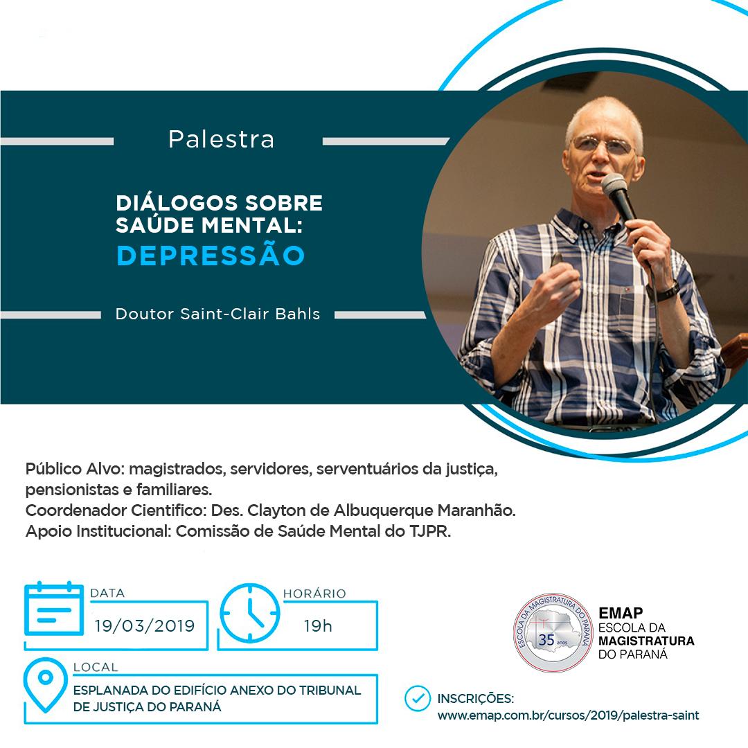 """AMAPAR convida para a palestra """"Diálogos sobre saúde mental: depressão"""""""