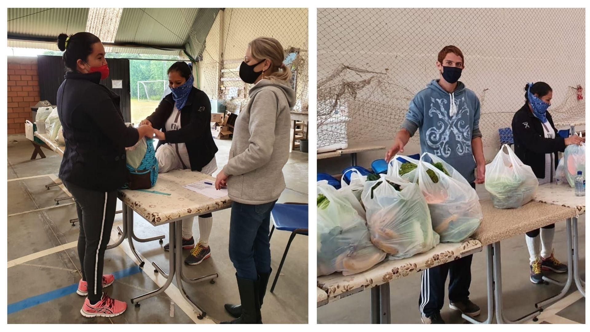 Projeto SerSocial faz atendimentos às famílias durante a pandemia da COVID-19