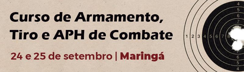 Curso de Armamento, Tiro e APH de Combate - Maringá