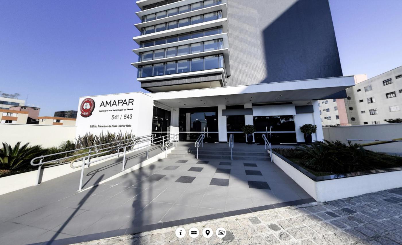 AMAPAR apresenta tour virtual da sede administrativa