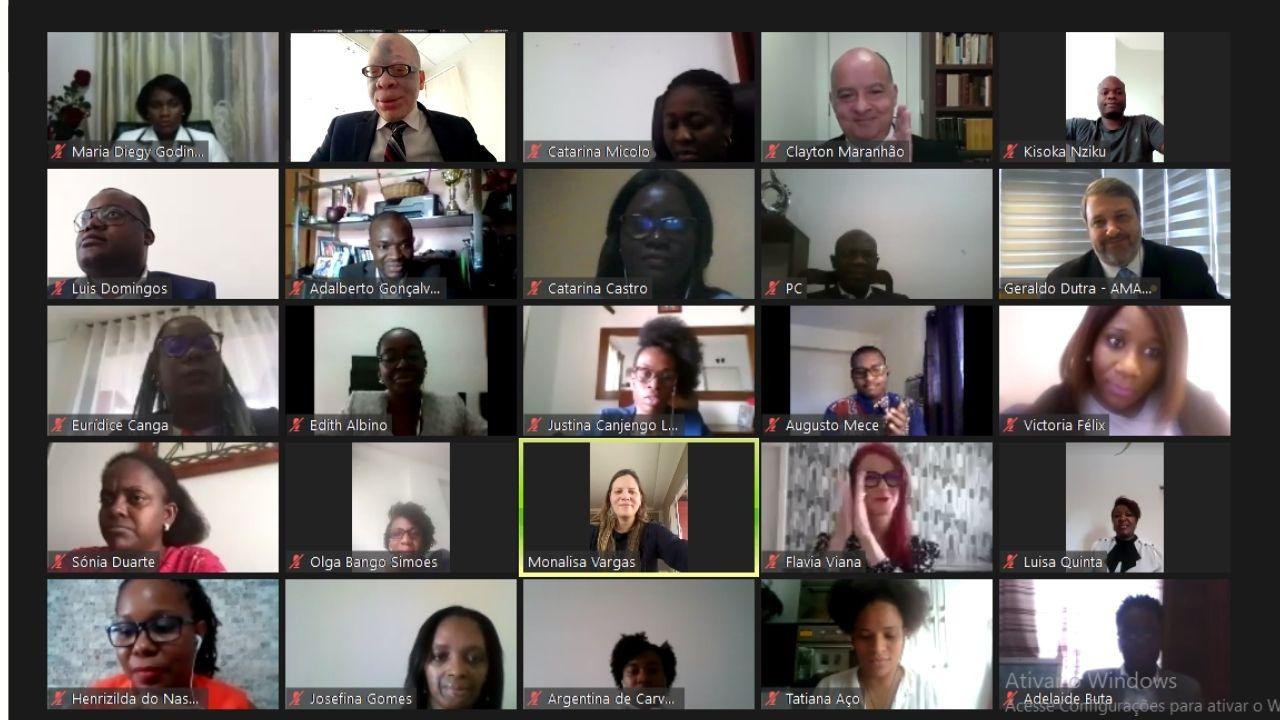 Com celebração a uma década de união, UIJLP, AMAPAR e EMAP promovem formatura para 52 magistrados de Angola que concluíram curso de formação continuada