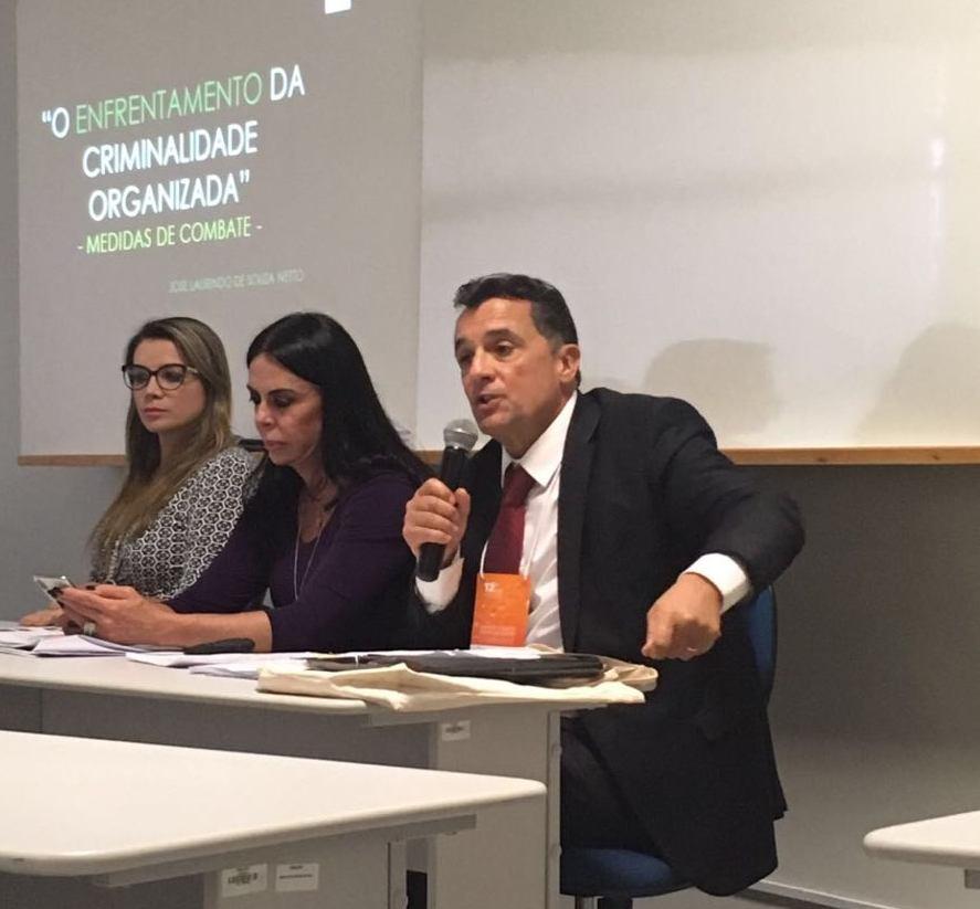 Ao representar o TJ-PR, José Laurindo de Souza Netto comenta participação no encontro do Fórum Brasileiro de Segurança Pública
